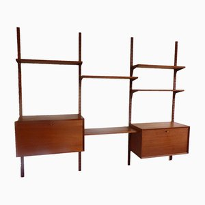 Modular Teak Shelving Unit by Poul Cadovius for Cado, 1960s