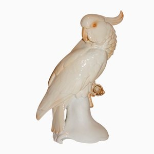 Cockatoo Sculpture by Theodor Kärner for Rosenthal, 1923