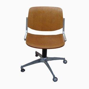 Chaise de Bureau Vintage de Anonima Castelli