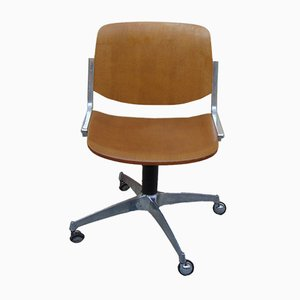 Vintage Office Chair from Anonima Castelli