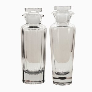 Hand-Blown Glass Decanters by Gerda Strömberg for Strömbergshyttan, 1940s, Set of 2