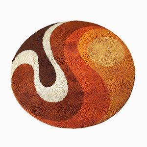 Großer niederländischer psychedelischer Teppich von Prinstapijt, 1970er