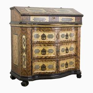 18th-Century Baroque Secretaire, 1780s