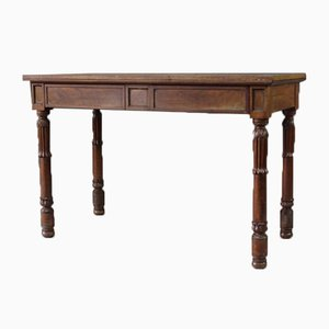 Table de Service William IV Antique en Acajou