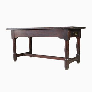 Antique Continental Pine Refectory Table