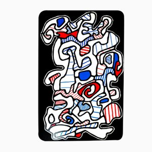 Le Gitan Screenprint by Jean Dubuffet, 1967
