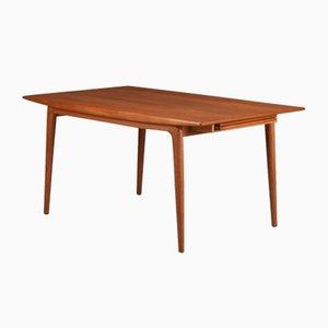 Table de Salle à Manger Extensible Boomerang en Teck par Alfred Christensen pour Slagelse Møbelværk, 1960s