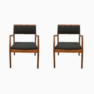 C140 Playboy Stühle von Jens Risom, 1960er, 2er Set