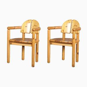 Sedie da pranzo di Rainer Daumiller per Hirtshals Sawmill, anni '70, set di 2