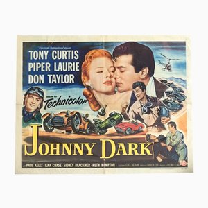 Johnny Dark Movie Poster, 1954