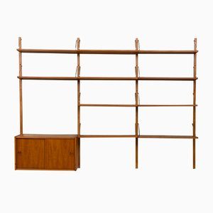 Danish Teak Wall Unit by Poul Cadovius, 1960s