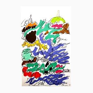 Lithographie Hommage à Dufy par Charles Lapicque, 1965