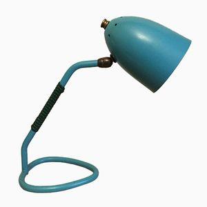 Lampada da tavolo Cocotte turchese, anni '60