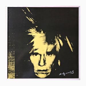 Serigrafia Andy Warhol a colori su porcellana di Kunsthandel Draheim, 2002