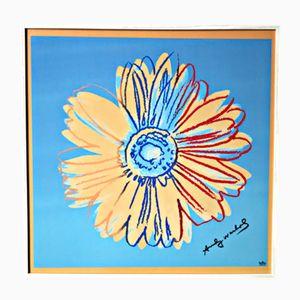 Sérigraphie Andy Warhol en Couleur sur Porcelaine de Kunsthandel Draheim, 2002
