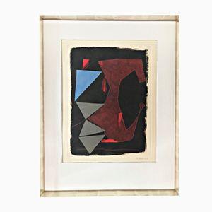 Incisione Devastazione e Recostruzione di Marino Marin di Kunsthandel Draheim, 1963