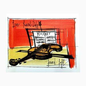 Litografia Homage to Dufy di Bernard Buffet, 1965