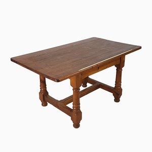 Table de Marchand de Tissus Vintage en Pin