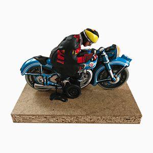 Dieter Roth Skulptur eines Motorradfahrers von Kunsthandel Draheim, 1969