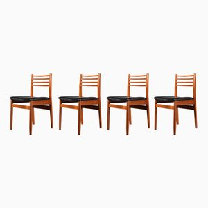 Mid-Century Teak Chairs from Meredew, Set of 4