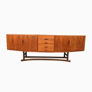 Mid-Century HB20 Teak Sideboard by Johannes Andersen for Hans Bech