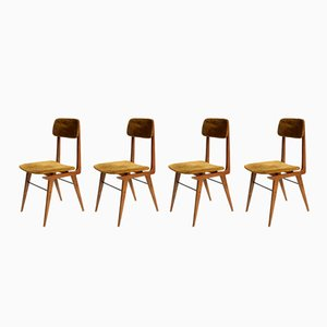 Italian Dining Chairs from Elam, 1950s, Set of 4