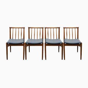 Skandinavische Vintage Stühle, 1960er, 4er Set