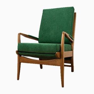 Butaca verde de Samuel Parker para Parker Knoll, años 60