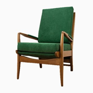 Green Armchair by Samuel Parker for Parker Knoll, 1960s