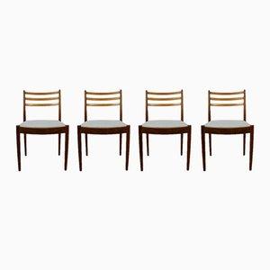 Chaises de Salle à Manger Vintage par Victor Wilkins pour G-Plan, 1960s, Set de 4