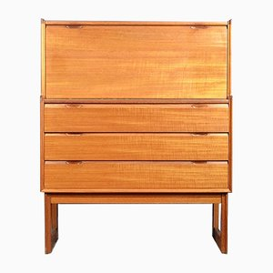 Mid-Century Teak Secretaire from Turnidge of London
