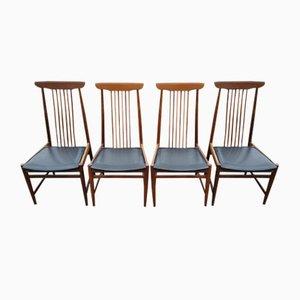 Chaises Scandinaves Vintage, 1960s, Set de 4