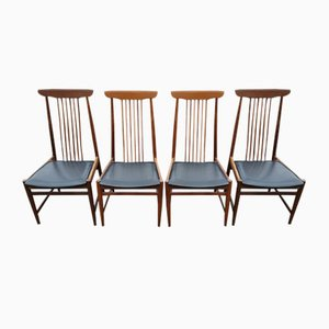 Vintage Scandinavian Chairs, 1960s, Set of 4