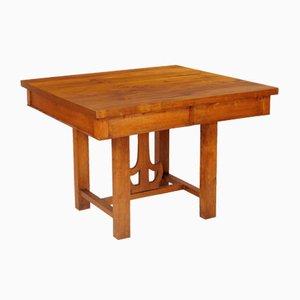 Antiker italienischer Tisch aus Lärche & Tanne