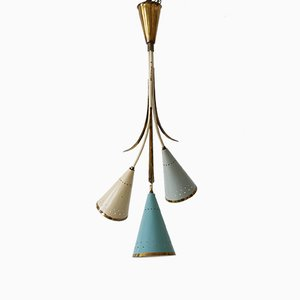 Mid-Century Sputnik Chandelier or Pendant, 1950s
