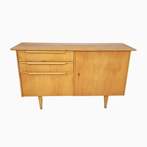 Vintage Dutch Oak Sideboard, 1950s