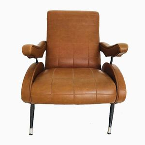 Vintage Reclining Lounge Chair, 1970s