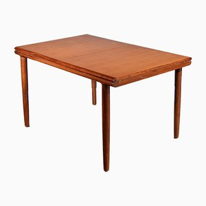 Mid-Century Danish Extending Teak Table