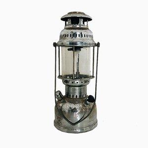 Lámpara de aceite industrial vintage, años 70