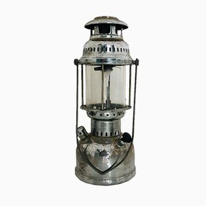 Vintage Industrial Oil Lantern, 1970s