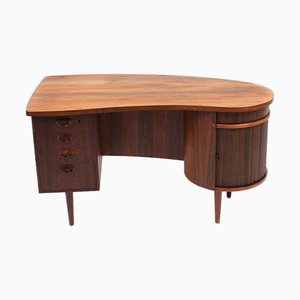 Mid-Century Danish Rosewood Desk by Kai Kristiansen for FM Møbler, 1950s