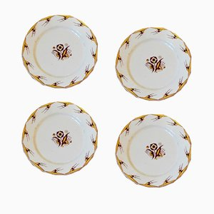 Art Deco Plates from Villeroy & Boch, 1930s, Set of 4
