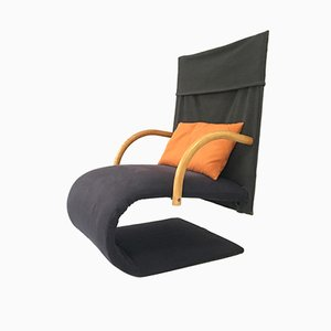 French Zen Chair by Claude Brisson for Ligne Roset, 1980s