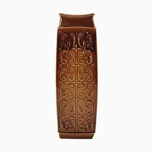 Vaso grande vintage in ceramica, anni '80