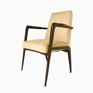 Skai & Wood Chair, 1960s