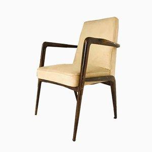 Stuhl aus Skai & Holz, 1960er