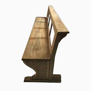 Panca vintage in legno, anni '20