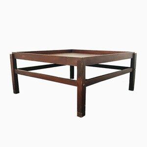 Vintage Tisch im Holzrahmen, 1960er