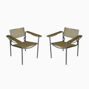 Spaghetti Armchairs by Giandomenico Belotti for Alias, 1980s, Set of 2