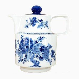 Tetera de porcelana de VEB Porzellankombinat Colditz, años 60